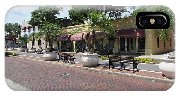Boutiques In Tarpon Springs Phone Case by Nancy Hopkins