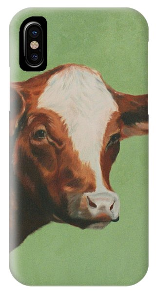Bovine Beauty IPhone Case