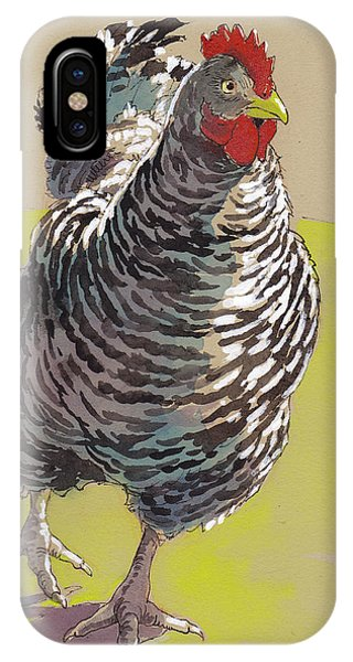 Barnyard iPhone Case - Bow Chicka Wowwow by Tracie Thompson