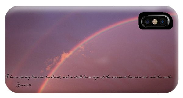 Bow In The Clouds IPhone Case