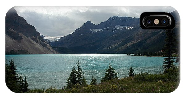 1021a Bow Lake Alberta IPhone Case