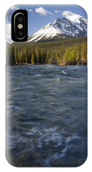 Bow River At Lake Louise IPhone Case