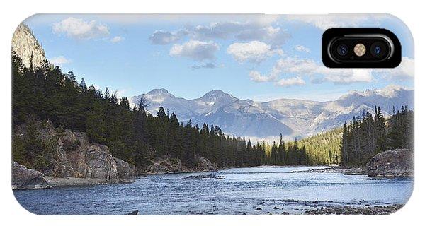 Sherri iPhone Case - Bow River Banff by Sherri Abell