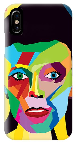 Vector iPhone Case - David Bowie by Mark Ashkenazi