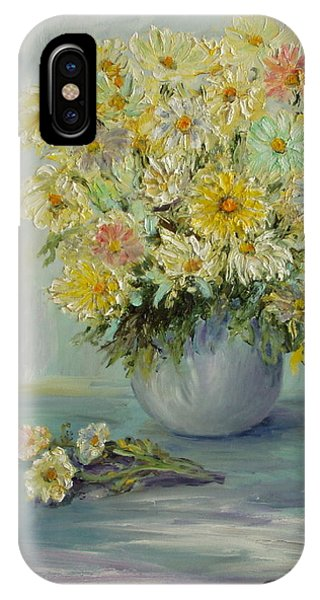 Bowl Of Daisies IPhone Case