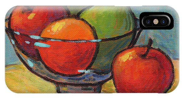 Bowl Of Fruit IPhone Case