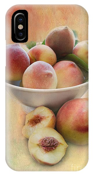 Bowl Of Peaches IPhone Case