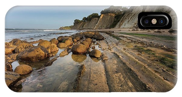 Bowling Ball Beach Near Point Arena Phone Case by Chuck Haney