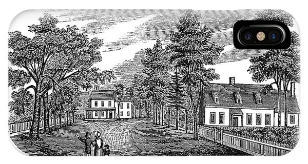 Bowne House, 1661 IPhone Case