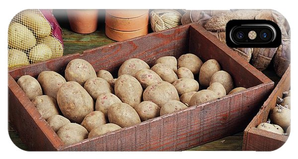 Box Of Potatoes IPhone Case