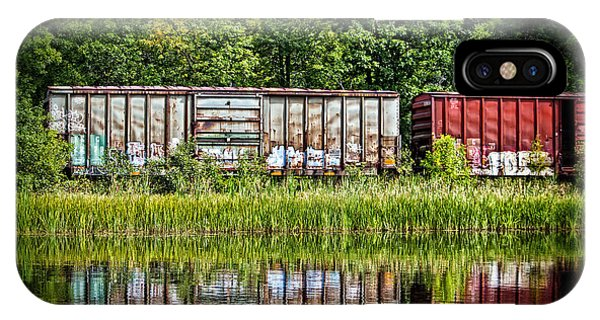 Boxcar Reflection IPhone Case
