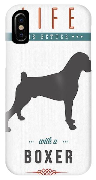 Boxer 01 IPhone Case