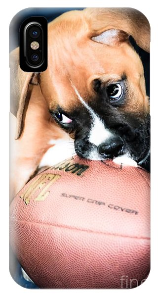 Boxer Puppy Cuteness IPhone Case
