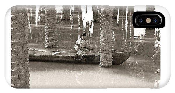 Boy Fishing IPhone Case