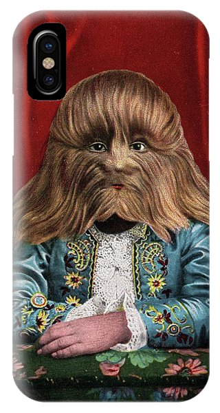 Barnum And Bailey iPhone Case - Boy With Hypertrichosis by American Philosophical Society