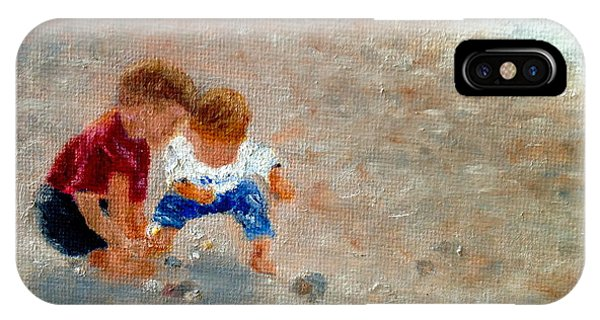 Boys At Play IPhone Case