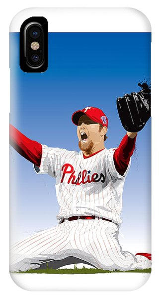 Brad Lidge Champion IPhone Case