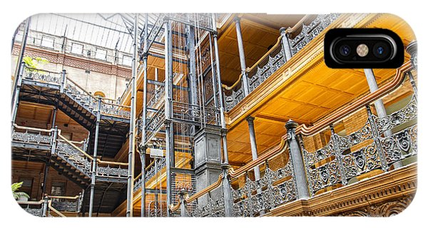 Bradbury Building Interior IPhone Case