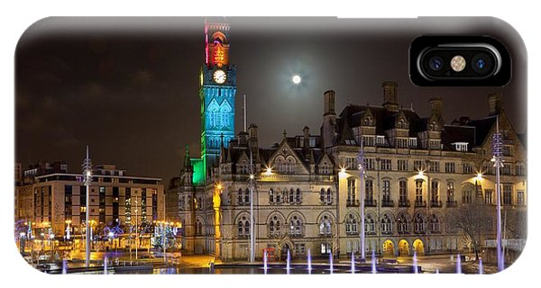 Bradford City Hall In The Evening IPhone Case