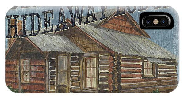 Hunting iPhone Case - Brady's Hideaway by Debbie DeWitt