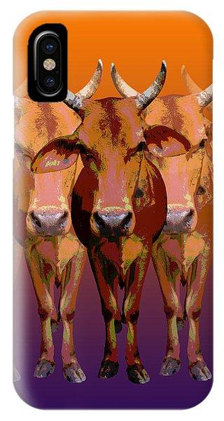 Brahman Cow IPhone Case