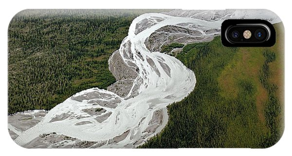 Braided River Phone Case by Dr Juerg Alean/science Photo Library