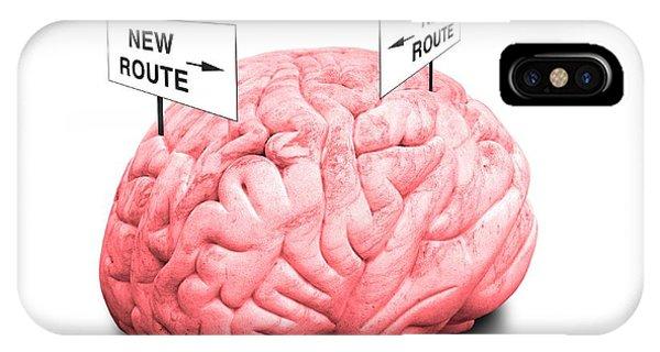 Brain Plasticity Phone Case by Victor De Schwanberg/science Photo Library