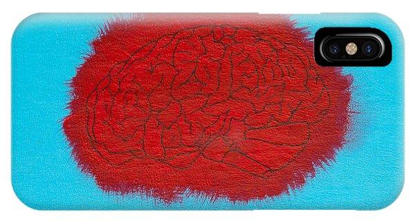 Brain Red IPhone Case
