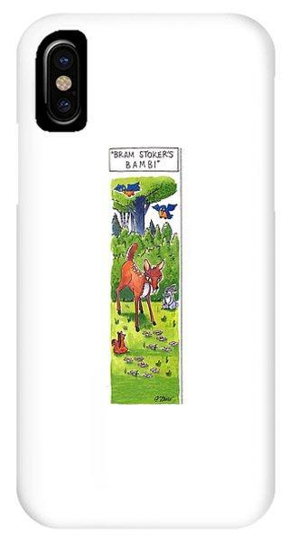 Bram Stoker's Bambi IPhone Case