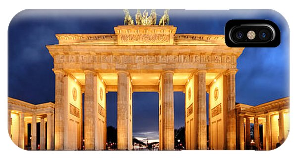 Brandenburg Gate Berlin Panorama IPhone Case