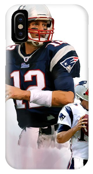Brady II  Tom Brady IPhone Case