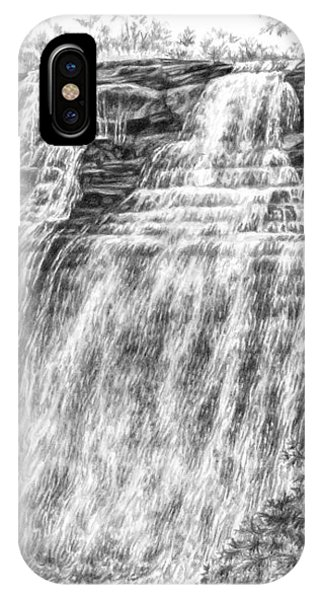 Brandywine Falls - Cuyahoga Valley National Park IPhone Case