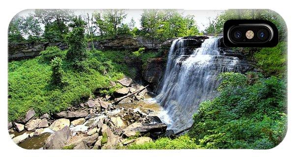 Brandywine Falls Gorge IPhone Case