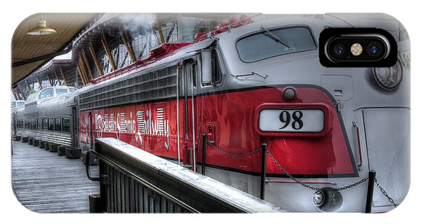 Branson Train IPhone Case