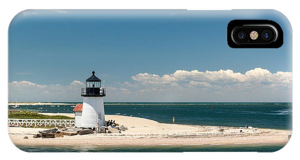 Brant Point Light Nantucket IPhone Case