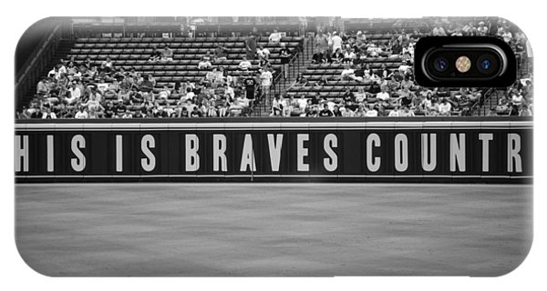 Braves Country Phone Case by Sara Jackson