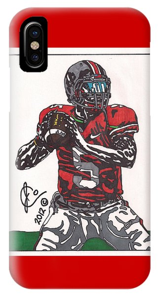 Braxton Miller 1 IPhone Case
