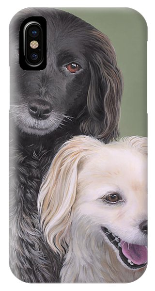 Brea And Randy IPhone Case