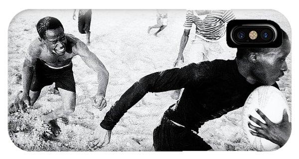 Action iPhone X Case - Break by Marcel Rebro