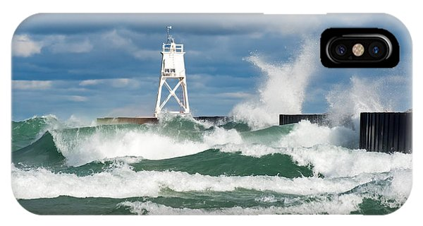 Break Wall Waves IPhone Case