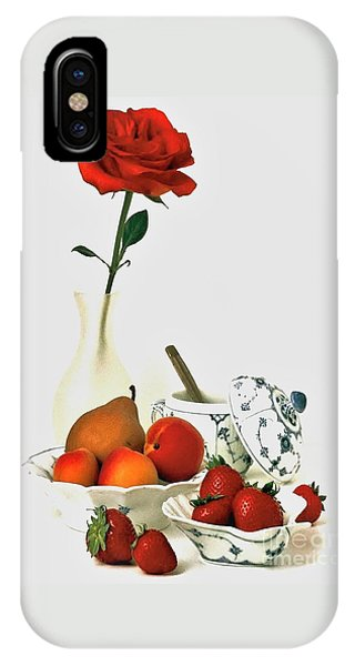 Breakfast For Lovers IPhone Case