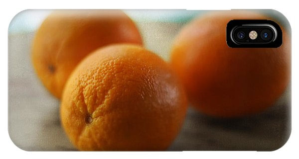 Teal iPhone Case - Breakfast Oranges by Amy Tyler