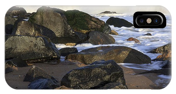 Breaking At Herring Point IPhone Case