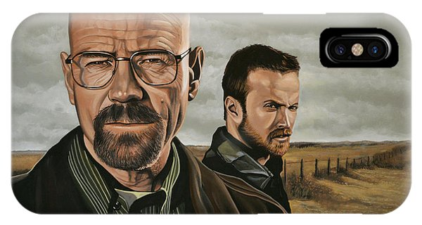 New Mexico iPhone Case - Breaking Bad by Paul Meijering