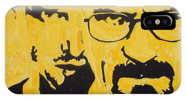 Breaking Bad Yellow IPhone Case