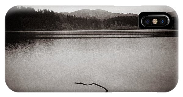Loch Ard iPhone Case - Breaking Free by Dave Bowman