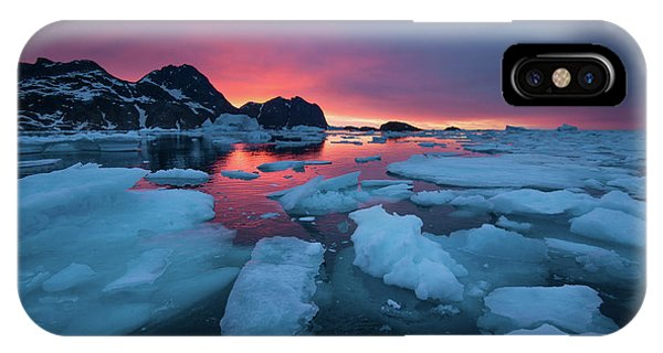 iPhone Case - Breaking Ice At Sunrise by Andy Mann