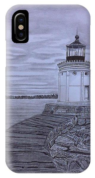 Breakwater Bug Lighthouse IPhone Case