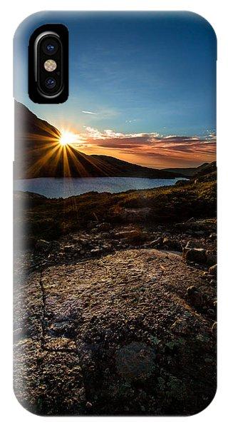 Indian Peaks Wilderness iPhone Case - Breathless Sunrise II by Steven Reed