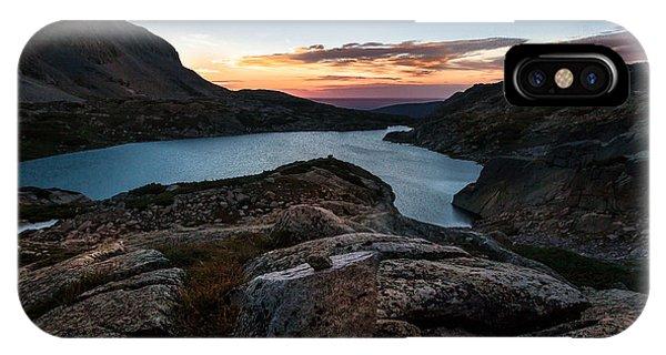 Indian Peaks Wilderness iPhone Case - Breathless Sunrise by Steven Reed